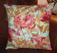 Throw Pillow Cover 16x16 Amy Butler's Twilight by PersnicketyHome
