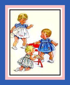 Vintage 1957 Sweetie Pie Toddler Topper by FarfallaDesignStudio