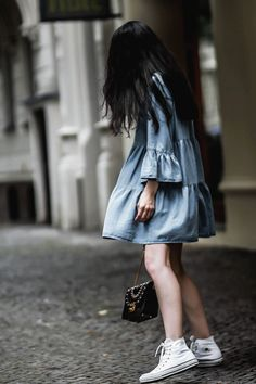 DENIM DRESS – Belle Melange