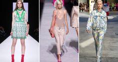 Trends Frühjahr-Sommer 2018 – Damenbekleidung, Schuhe, Accessoires, Farben, Beauty-Trends der neuen Saison