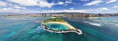 Hawaii, Oahu Island Virtual Tour - AirPano.com • 360 Degree Aerial Panorama • 3D Virtual Tours Around the World