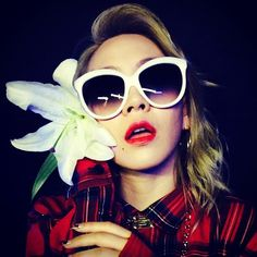@chaelin_cl   I love flowers