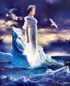 | Ice Queen JEAN PAUL AVISSE | Art: Fantasy: Romantic
