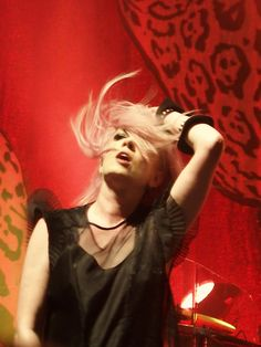 Shirley Manson, Garbage, The Tabernacle in Atlanta. Photo copyright by Charles Brock. Shirley Manson, Stupid Girl, The Tabernacle, Hana, Pink Hair, Badass, Singers, Ruffles, Atlanta