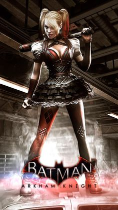 Harley Quinn Suicide Squad by BrianAtkins on DeviantArt Batman Arkham Knight, Deadshot, Riddler, Two Faces, Catwoman, Harley Quinn, Squad, Pin Up, Darth Vader