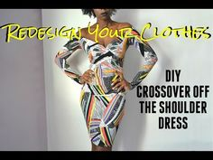 (RYC) 27: DIY Off The Shoulder Crossover Dress - YouTube