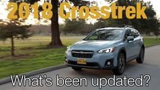 The biggest refresh in the 2018 Subaru lineup is on the Crosstrek. It acquires the Subaru Global Platform, a new 6 speed transmission, and a few more horses . 6 Speed Transmission, News 6, Subaru, Car, Truck, Automobile, Trucks, Vehicles, Track