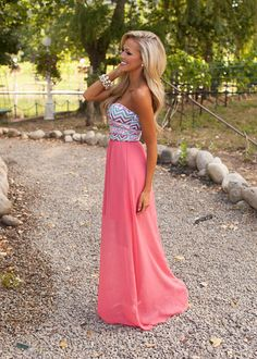 Online boutique. Best outfits. Sleeping Beauty Maxi Dress - Modern Vintage Boutique