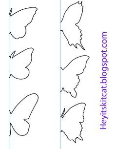 Heyitskitcat: DIY Schmetterlings-Wand-Dekor: Source by nagihan_yalcink Heyitskitcat: DIY Schmetterling Wanddeko: - Site Name Heyitskitcat: DIY Butterfly Wall Decor: - diy decor new Butterfly Templates for your rainy day DIY's DIY butterfly, book paper wit Butterfly Wall Decor, Butterfly Crafts, Butterfly Art, Diy Butterfly Decorations, Butterfly Mobile, Origami Butterfly, Wall Decorations, Diy Paper, Paper Art