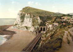 Old photos of Dover in Kent, England, United Kingdom of Great Britain. Dover England, London England, Kent England, White Cliffs Of Dover, Holiday Places, Picture Postcards, Lausanne, Grand Tour, Pompeii