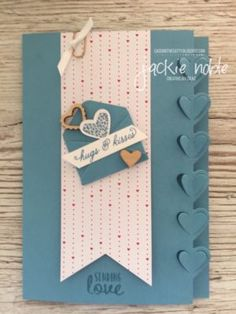 Jackie Noble   creativejax.co.nz February 2017 CTC114-Sending Love Sealed with Love Love Notes Birthday #stampinup #CTC114 #creativejax