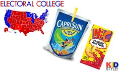 Awesome post about how to teach kids about electoral college, with a link to an interactive electoral map, from Hoosier Teacher! Check it ou...