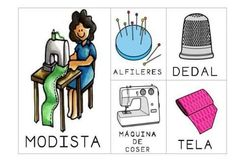 Spanish Class, Tela, Speech And Language, Learning, Knowledge, Dressmaker, Preschool, Teaching Aids