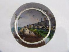 Antique Victorian Souvenir Glass Paperweight - Granville Marina Ramsgate - Kent
