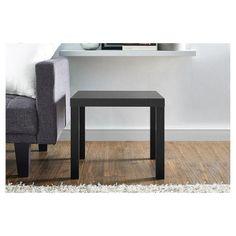 Parsons End Table - Black Wood Grain - Black - Dorel Home Products : Target