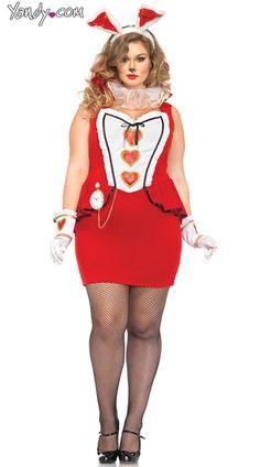 Plus Size Tea Party Bunny Costume