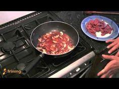 Veal in Mushroom Sauce by Frining Chef Aviva
