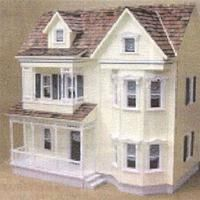 Front Opening Country Victorian, Milled Cabinet Grade | Mary's Dollhouse Miniatures