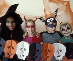 Halloween party - more touch and feel party games for kids... Makes the haunted house more friendly for younger kids.
