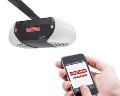Craftsman AssureLink Garage Door Opener  Even if your garage door opener is brand new, it looks like it came form the 80s. And that's if you buy the good one. Thank you Craftsman for introducing an app-driven smartphone controlled garage opener. Welcome to opening the garage 2011-style. Source $229.99