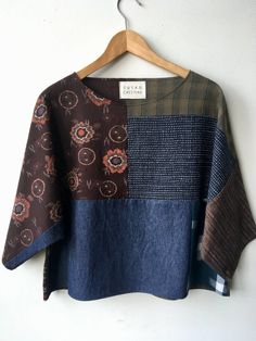 Susan Eastman. Lovely collaged boxy tops
