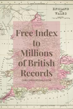 If your family history research leads you back to England or Wales, the records kept by the General Register Office (GRO), and the GRO Index online, should absolutely be on your short list of amazing resources. Free Genealogy Sites, Genealogy Research, Family Genealogy, Family Tree Maker, Computer Basics, We Are Family, Ancestry, Family History