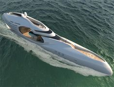 Infinitas is a 300 foot yacht concept inspired from the symbol of infinity. This closed loop eternity symbol is featuring two major elements, the carving out stern and the mid section elliptical shaped deck constructs.