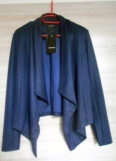 Kup mój przedmiot na #vintedpl http://www.vinted.pl/damska-odziez/marynarki-zakiety-blezery/14261111-blezer-reserved-granatowy-klapy