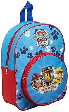 46848a5342ed Paw Patrol Cute Kids Backpack with Front Pocket for School or Nursery for  sale online