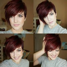 Short Funky Hairstyles for Thin Hair