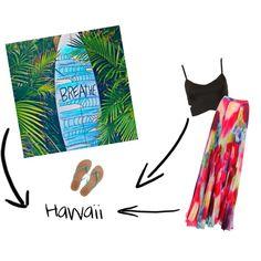 """Hawaii"" by paukbarrancos on Polyvore"