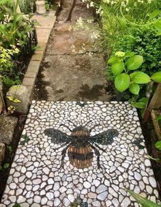 Farm Gardens, Outdoor Gardens, Garden Paths, Garden Art, Mosaic Garden, Backyard Landscaping, Garden Projects, Garden Ideas, Interior Exterior