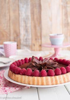 Tarte au Chocolat Framboises Façon Charlotte