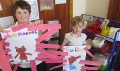 Sarah Hynie's class assumed it was their classwork that had brought the matter of the Three Little Pigs to the media's attention. Photograph...
