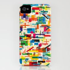 Olympic Village iPhone Case by Yoni Alter - $35.00