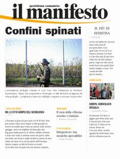 Informazione Contro!: CONFINI SPINATI