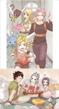 Awwwn Natsu e Lucy , Gajeel e Levy Fairy Tail Nalu, Fairy Tail Love, Fairy Tail Ships, Rog Fairy Tail, Fairy Tail Natsu And Lucy, Fairy Tail Guild, Gale Fairy Tail, Fairy Tail Funny, Manga Anime