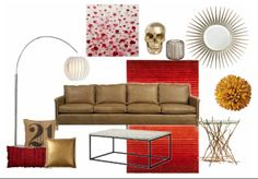 Modern. Check out this moodboard created on @Cheryl Brogan: Modern by becd21