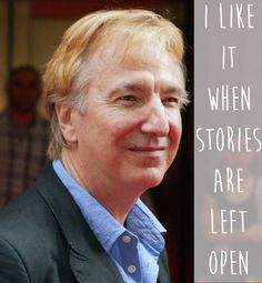 13 Beautiful And Moving Alan Rickman Quotes To Remember Him By