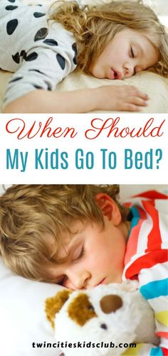 Twin Cities Kids Club Blogs: When Should My Kids Go To Bed? - Getting enough sleep is crucial for staying healthy, and this is especially true for growing bodies. We are all aware of how great a deep sleep can feel, but a good sleep routine can also have a number of health benefits. | Sleep Routine | Bed Time | Sleep | Sleep Time | Kids Bed Time | Kids | Parenting Activities For 2 Year Olds, Indoor Activities, Infant Activities, Step Parenting, Parenting Hacks, 3 Year Olds, Time Kids, Good Sleep, Bedtime