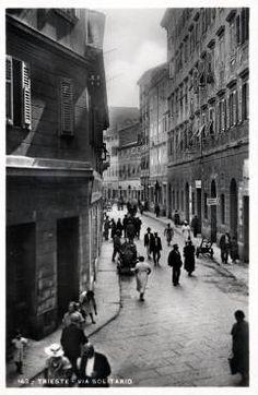 Via Solitario (recto) Trieste, Nostalgia, Street View, Lonely, Houses, Italia, Pictures, Fotografia