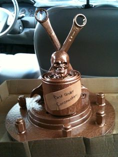2011 car trophy for Chris' car show