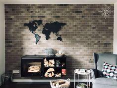 Ein Kundenbild wie aus dem Katalog. Vielen Dank dafür! World M, Cool Stuff, Design, Site, Home Decor, World Wide Map, Living Room Ideas, Decorating Ideas, Steel