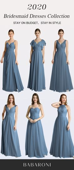 Sku: Hundreds Available Price: Under $99.00 Color: Slate Blue Size: All Sizes Available These full-length dresses are made of chiffon and in great quality, which make you look elegant. #babaroni #bigsale #2020wedding #weddinginspiration #wedding #wedding #weddings #weddings #weddingdress #weddingdresses #bridalgown #bridesmaid #bridesmaiddress #bridesmaidgown #bridesmaidgowns#bridesmaiddrsses #chiffondress #longdress #dreamdress #longgown#slatebluecolor
