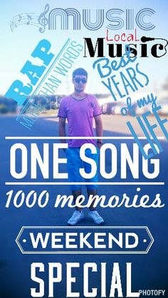 One song, 1000 memories...