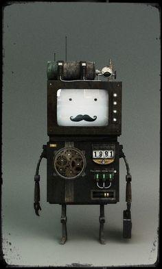 レトロなロボット|all nocco zakka life -おもしろ雑貨ライフ-