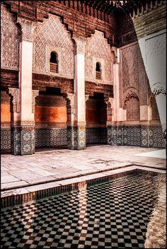 ISLAMIC SCHOOL BEN-JUSUF, Morocco *