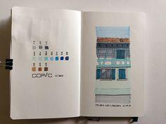 Sketchbook Skool – Week Three – Andrea Foenander