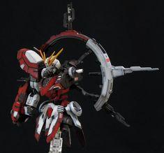 High Grade HG 1/144 GF13-017NJII Burning Gundam - Custom Build by Sumisu