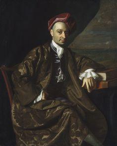 """Nicholas Boylston,"" about 1769, John Singleton Copley, Boston, Massachusetts"